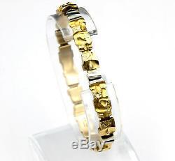 14 Karat Gold Bracelet by Lapponia Björn Weckström c. Finland 1984