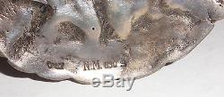 2.5 rare Antique Norwegian Silver 830S brooch Norway Dovregubben, Frisenberg