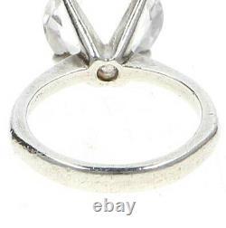 A modernist 1965 Bengt Hallberg silver & rock crystal ring Vintage Scandinavian