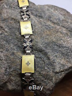 Aksel Holmsen Norne Sterling Silver enamel bracelet Norway Norwegian