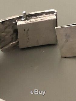 Aksel Holmsen Norne Sterling Silver l bracelet Norway Norwegian Peer Gynt