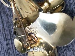 Albert Scharning Sterling Silver Enamel brooch Norwegian Norway