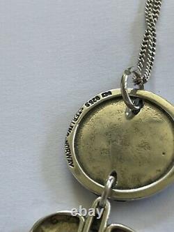 Anna Greta Eker Norway Designs Plus Pendant Sterling Silver