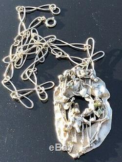 Anna Greta Eker Unica Sterling Silver necklace Norway Norwegian