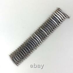 Anton Michelsen Articulated Sterling Silver Bracelet by Gertrude Engel (Rougie)
