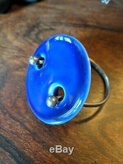 Anton Michelsen Royal Copenhagen Porcelain + Sterling bracelet + extra disc