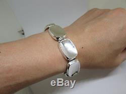 Bent Knudsen Modernist Sterling Bracelet 20 Vintage