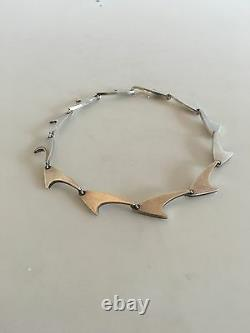 Bent Knudsen Necklace in Sterling Silver
