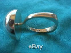 Bernard Hertz Danish Mid Century Modern Sterling Silver Ring