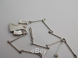 Bjorn Weckstrom Lapponia Sterling Silver Necklace 1983