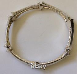 Bjorn Weckstrom Sterling Silver Bracelet For Lapponia