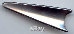 Brdr B Bjorklund Vintage Sterling Silver Modernist Pin Brooch Denmark