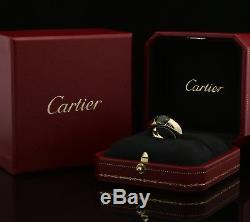 Cartier 18K Gold Ring Tourmaline Ellipse With Box A941