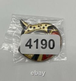 D-A David Andersen Norway 925 Sterling Silver Enamel Fish Pin Brooch Rare Colors