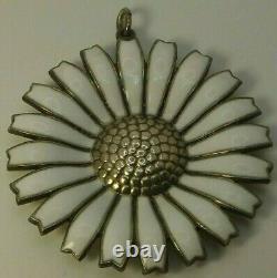 Danish Daisy Pendant by Anton Michelsen 42 mm