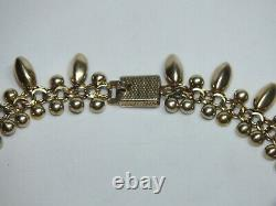 Danish Silver Necklace Hermann Siersbøl -VINTAGE
