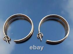 David Andersen Iron Age earrings Norway Sterling Silver scandinavian design