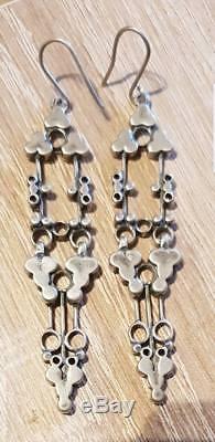 David Andersen Marianne Berg Design Earrings Sterling Silver