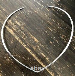 David Andersen Norway Necklace Neck Ring Choker W Pendant