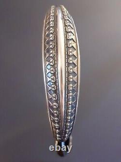 David-Andersen Norway Viking Scotland sterling silver bracelet Scandinavian
