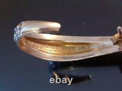 David-Andersen Norway Viking Scotland sterling silver earrings Scandinavian
