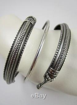 David Andersen Norway Viking Serpent Sterling Silver Saga Collection Bracelet