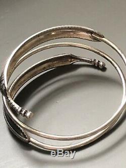 David Andersen Saga Viking Bracelet Sterling Silver Norway Norwegian