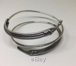 David Andersen Saga Viking Sterling Silver Bracelet Norway Norwegian