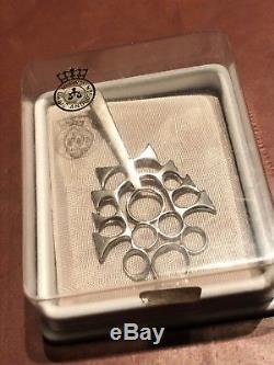 David Andersen Sterling Silver Pendant Norway Norwegian original box