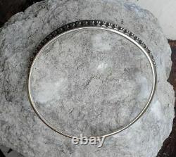 David Andersen Sterling Silver Saga Viking Bangle, Norway/norwegian