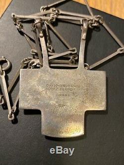 David Andersen Sterling Silver enamel Bjorn S Ostern Norway Norwegian