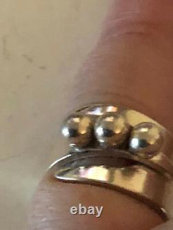 David Andersen Sterling Silver ring Norway Norwegian