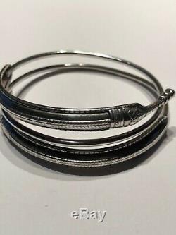 David Andersen Viking Saga Bracelet Sterling Silver Norway Norwegian
