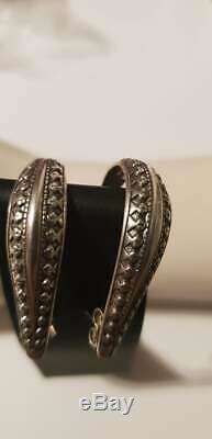David Andersen sterling silver earrings Norway Saga / Copy orginal viking age