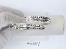 David Anderson Vintage Norway-sterling Silver Viking Saga Cuff Bracelet