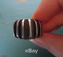 EKER Vintage Norway Sterling Silver Ring, Anna Greta Eker. Size 6