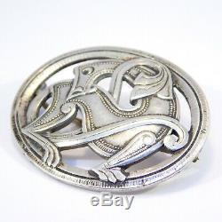 Early David Andersen Dragon Dragestil Celtic Brooch 830s