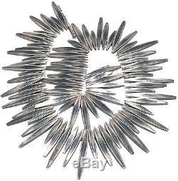Eigil Jensen Anton Michelsen Denmark Sterling Silver Modern Sculpture Necklace