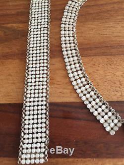 Einar Modahl Sterling Silver Enamel Necklace, Bracelet setNorway