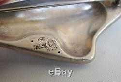 Fine sterling silver VTG modernist Geroge Jensen pin HK # 314