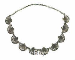 Finland Pentti Sarpaneva Gorgeous Vintage Bronze Necklace Peacock Very Rare