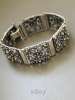 Finn Jensen Sterling Silver Classical Bracelet Norway Norwegian