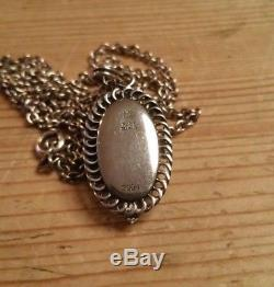 GEORG JENSEN Necklace Pendant 2004 Sterling Silver