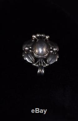GEORG JENSEN Sterling Silver Pendant Of The Year 2000, Silverball