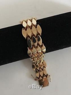 Georg Jensen 18K Gold Arno Malinowski Bracelet No 1126