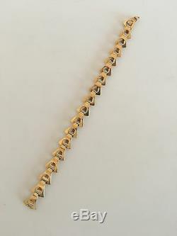 Georg Jensen 18K Gold Bracelet No 1147