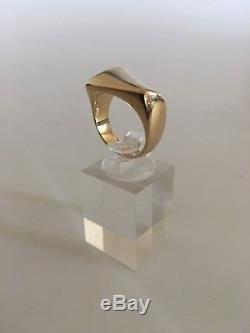 Georg Jensen 18K Gold Ring No. 1141 by Henning Koppel