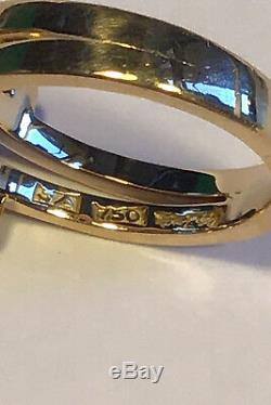 Georg Jensen 18 ct gold Ring with Amethyst