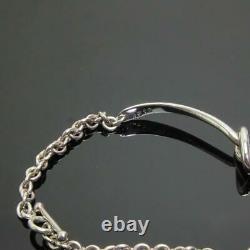 Georg Jensen Bracelet #A51B Sterling Silver Denmark Jewelry #13389