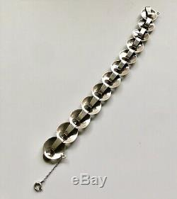 Georg Jensen Denmark Sterling Silver Bracelet #172, Ibe Dahlquist